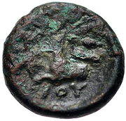 Bronze Æ13 (Ioulis) – revers