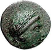 Bronze Æ16 (Ioulis) – avers