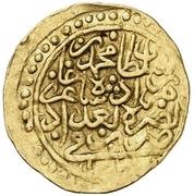 Sultani - Mehmed III – avers
