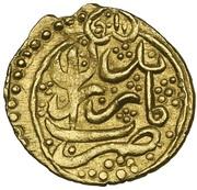 ¼ Mohur - Agha Mohammad Khan Qajar -  revers