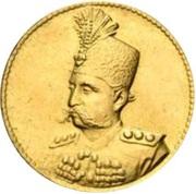 ½ Toman - Mozaffar al-Din Qajar – avers