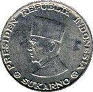 25 sen (Sukarno) – avers