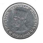 5 sen (Sukarno) – avers