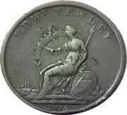 1 Penny (Wellington - Edward Bewley) – revers