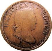 1/2 Penny (Hibernicus) – avers