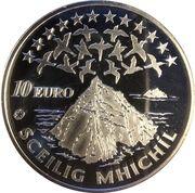 10 euros Iles Skellig Michael – revers