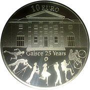 10 euros Le prix du président - Gaisce – revers