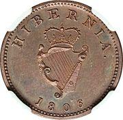 1 farthing - George III (Type .D:G.REX.) – revers