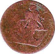 ½ penny (Turner Camac) – avers