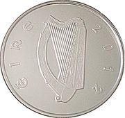 10 euros Michael Collins – avers
