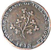½ Penny (Dublin - Hilles Ironmongers) – revers