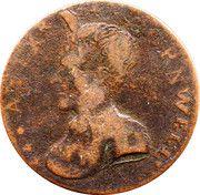 ½ Penny (Dublin - Cornwell) – avers