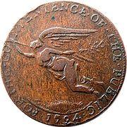 ½ Penny (Cork - J E & Co) – avers
