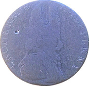 ½ Penny Wicklow (Cronebane - Justice debout) – avers