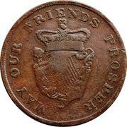 1 Penny (Irish non-local) – revers