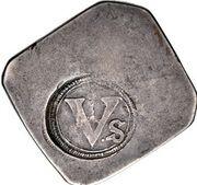 1 Crown (Dublin siege coinage) – avers