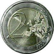 2 euros Dáil Éireann -  revers