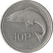 10 pence (petit module) -  revers
