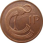 1 penny (magnétique) -  revers
