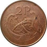 2 pence -  revers