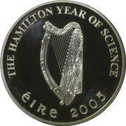 10 euros Sir William Rowan Hamilton – avers