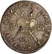 1 shilling - James II – revers