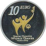 10 euros JO handicapés mentaux – revers