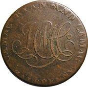 1/2 Penny John of Gaunt & Camac Kyan and Camac – avers