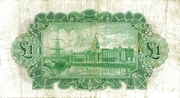 1 Pound (National Bank) – revers