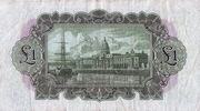 1 Pound - The Munster & Leinster Bank Limited – revers