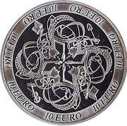10 euros Culture celtique – revers