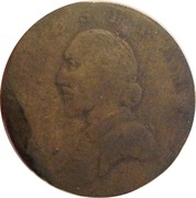 ½ Penny Evasion (Incorporated by act of Parliament - Shakespear ) – avers
