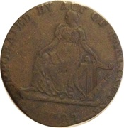 ½ Penny Evasion (Incorporated by act of Parliament - Shakespear ) – revers