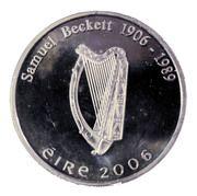 10 euros  Samuel Beckett – avers