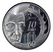 10 euros  Samuel Beckett – revers