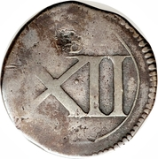 12 Pence - Charles (Ormonde coinage) – revers