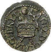 """1 Farthing - James I (""""Lennox"""" issue) – avers"""