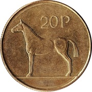 20 pence -  revers