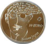 10 euros James Joyce – revers