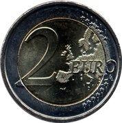 2 euros Soulèvement de Pâques – revers