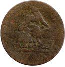 ½ Penny (Dublin – Camac Kyan and Camac) – avers