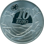 10 euros Ploughman – revers
