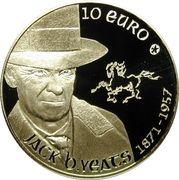 10 euros Jack Butler Yeats – revers
