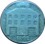 ½ Penny (Dublin - Pantheon) – avers