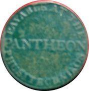 ½ Penny (Dublin - Pantheon) – revers