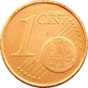 1 cent d'euro -  revers