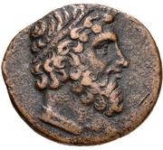 Bronze Æ19 (Isinda) -  avers