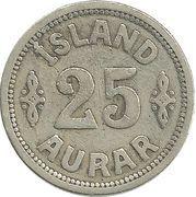 25 aurar - Christian X – revers