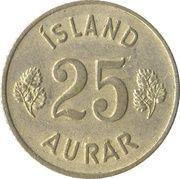 25 aurar -  revers
