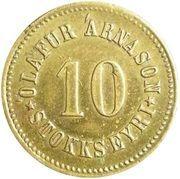 10 aurar (Olafur Arnason) -  avers